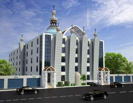 Nro 4 kilpailuun Do some 3D Modelling- Mosque and madrassah-and see your design be built!! käyttäjältä archmamun