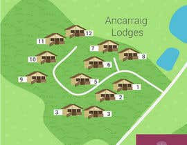 hkati tarafından Illustrate our lodge park site map için no 22