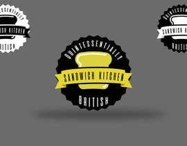 #95 for Sandwich Logo by daveneo
