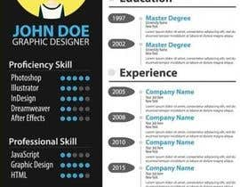 jhosser tarafından Create as many unique Resume templates as you can in a week -- 1 için no 43