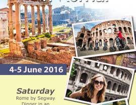 jassna tarafından Design a Flyer for a company event in Rome için no 16