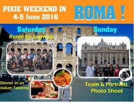 biplob36 tarafından Design a Flyer for a company event in Rome için no 12