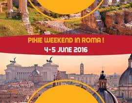 fadovicattia tarafından Design a Flyer for a company event in Rome için no 4