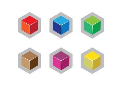 LogoDesk01 tarafından Design a Logo - Basic 3d cube type logo için no 31