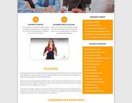 Nro 10 kilpailuun Design a New Website Mockup käyttäjältä ncdesignerr