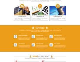 Nro 9 kilpailuun Design a New Website Mockup käyttäjältä husainmill