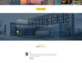 Nro 7 kilpailuun Design a New Website Mockup käyttäjältä marrykristen