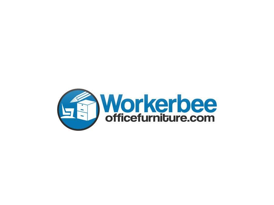Konkurrenceindlæg #3 for Design a Logo for Workerbeeofficefurniture.com
