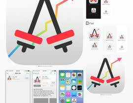 #122 for Design an App Icon for a Gym App af MilanKalb