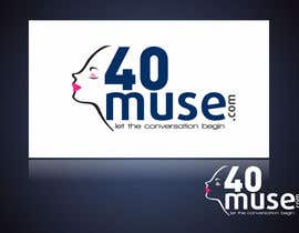 #36 para Logo Design for 40muse.com,a digital publication for black women ages 40+ por ulogo