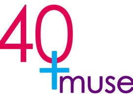 #54 para Logo Design for 40muse.com,a digital publication for black women ages 40+ por ungeomni
