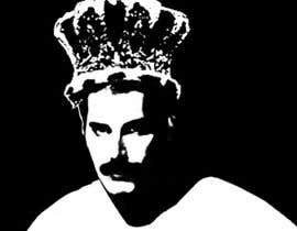 #24 untuk design logo / illustration with freddie mercury oleh mazila