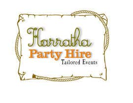 #19 untuk Design a logo for Karratha Party Hire oleh Solo2go