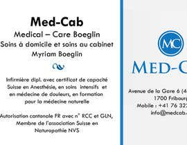 #1 para Med-Cab Business Card Design por kimleepatterson