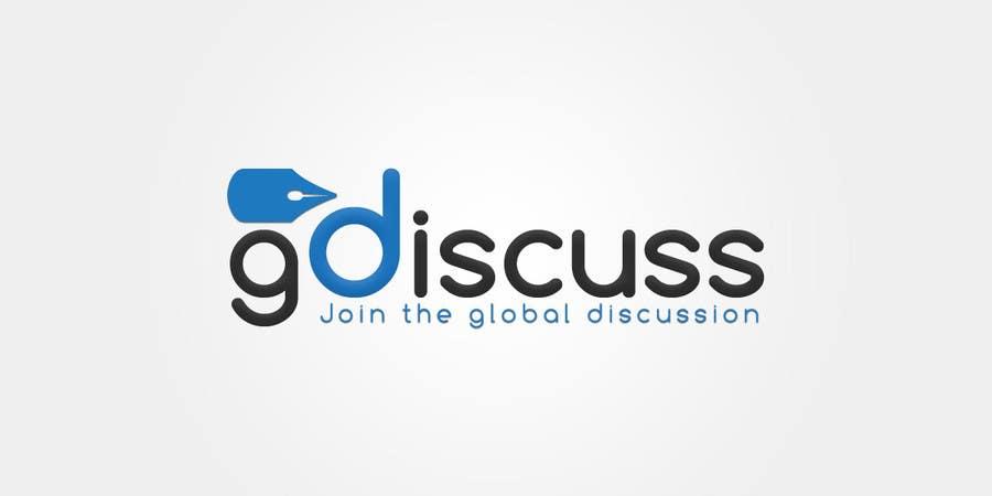 #27 for Design a Logo for gdiscuss.com by makiskyrkos