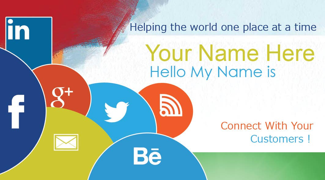 #22 for Design some Business Cards inspired by Social Media by MagicalDesigner