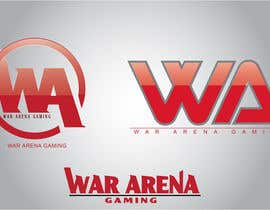 nº 40 pour Design a Logo for War-arena Gaming par GamingLogos