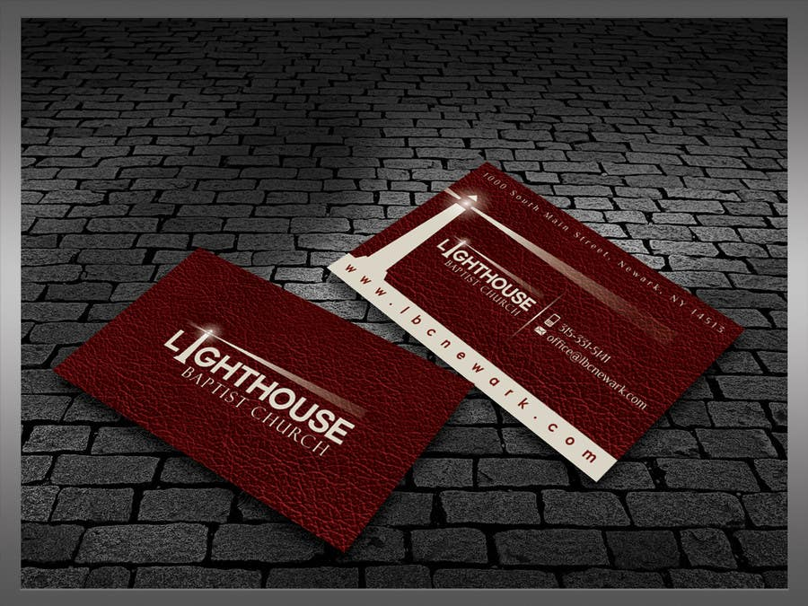 Contest Entry #31 for Design some Business Cards for a Church