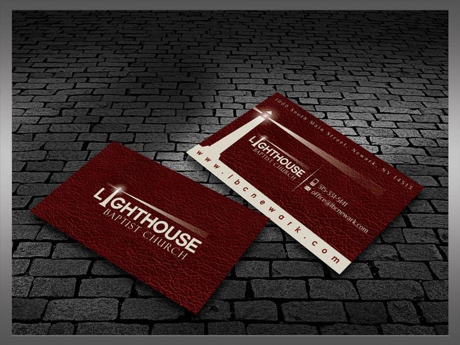 Inscrição nº 31 do Concurso para Design some Business Cards for a Church