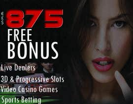 Luksa998 tarafından Design an Advertisement for an Online Casino için no 3