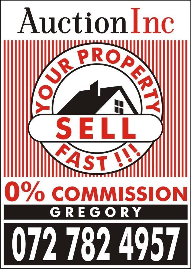 Inscrição nº 138 do Concurso para Design an Advertisement for Auction Company
