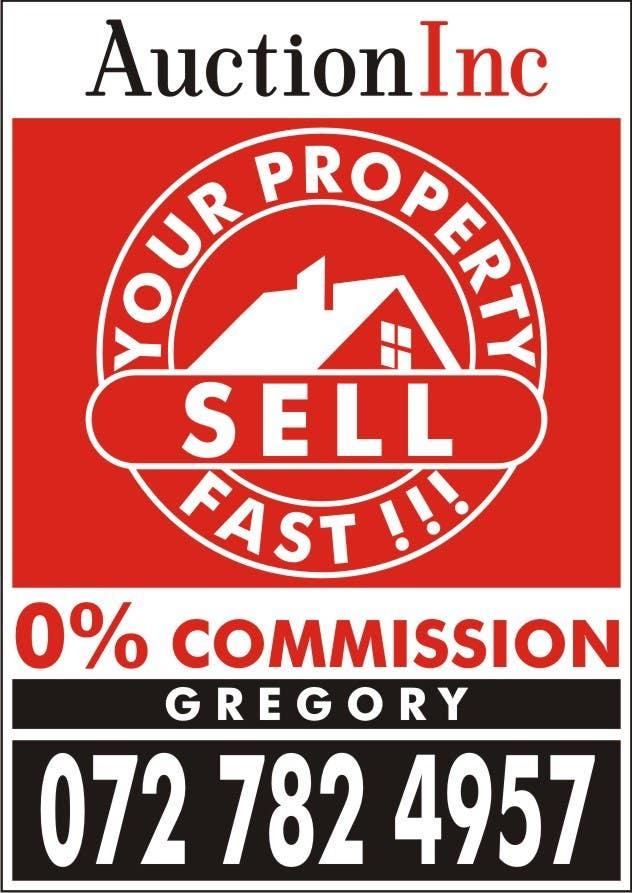 Inscrição nº 149 do Concurso para Design an Advertisement for Auction Company