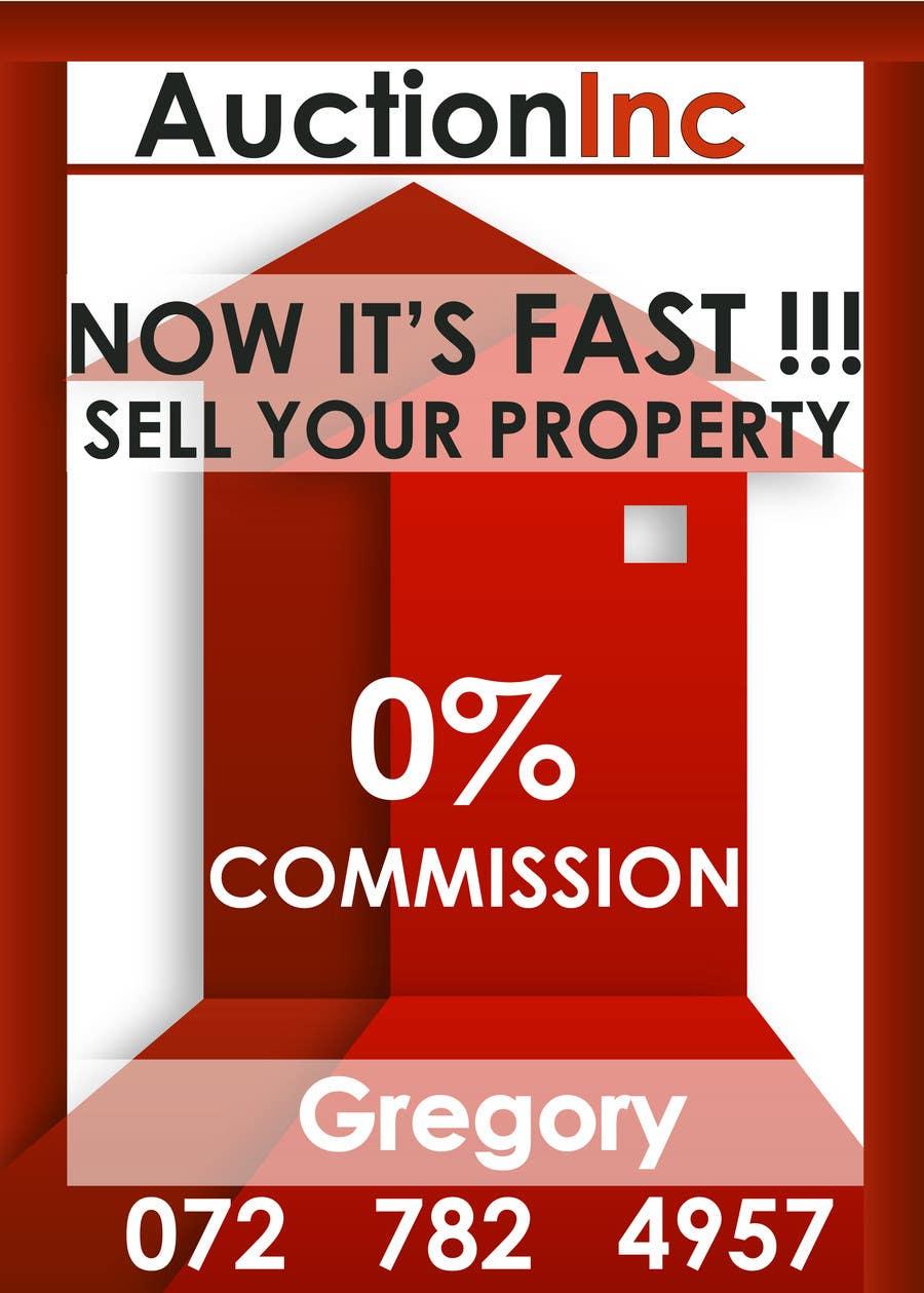 Inscrição nº 148 do Concurso para Design an Advertisement for Auction Company