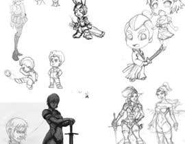 #46 cho Character Pencil Sketches bởi Milos009