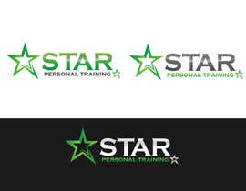 #111 for STAR PERSONAL TRAINING logo and branding design by pipra99