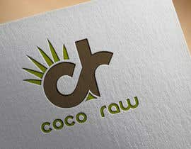 "Dandelion15 tarafından Design a Logo for a coconut water company called ""Coco Raw"" için no 5"
