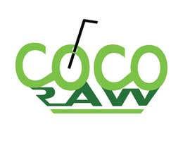 "NirobAnik143 tarafından Design a Logo for a coconut water company called ""Coco Raw"" için no 35"