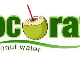 "reenaespiritu tarafından Design a Logo for a coconut water company called ""Coco Raw"" için no 39"