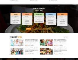 dsquarestudio tarafından Design a Website Mockup için no 43
