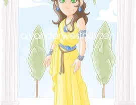 Nro 11 kilpailuun Illustrate a girl x3 käyttäjältä ajvdw
