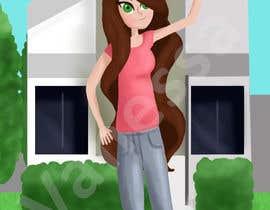 Nro 10 kilpailuun Illustrate a girl x3 käyttäjältä vanessadugarte
