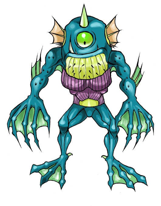 #19 for Monster Character Design for iOS Games by ramadhiansanjaya
