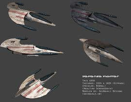 #12 para Do some 3D Modelling for Video Game - Space Fighter por bhumitpadalia