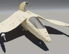 #8 untuk Do some 3D Modelling for Video Game - Space Fighter oleh Bjohen