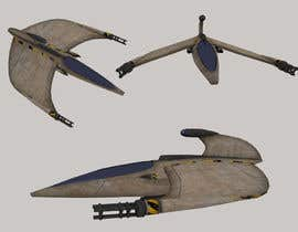 #11 untuk Do some 3D Modelling for Video Game - Space Fighter oleh Xalmas