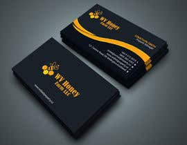 Nro 47 kilpailuun I need a busines card designed around or with our company logo.  We have a local bee business. käyttäjältä Kamrunnaher20