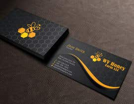 Nro 64 kilpailuun I need a busines card designed around or with our company logo.  We have a local bee business. käyttäjältä jewel2ahmed