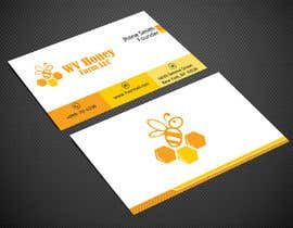 Nro 23 kilpailuun I need a busines card designed around or with our company logo.  We have a local bee business. käyttäjältä Warna86