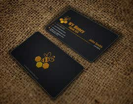 Nro 45 kilpailuun I need a busines card designed around or with our company logo.  We have a local bee business. käyttäjältä HD12345