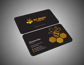 Nro 39 kilpailuun I need a busines card designed around or with our company logo.  We have a local bee business. käyttäjältä kmdesign44