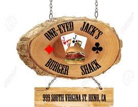 CyberSurgeon tarafından Design a Logo for One-Eyed Jack's Burger Shack için no 6
