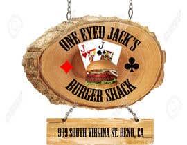 CyberSurgeon tarafından Design a Logo for One-Eyed Jack's Burger Shack için no 8