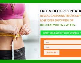 Nro 26 kilpailuun Weight Loss squeeze page/landing page käyttäjältä lee800154