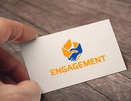 "Nro 36 kilpailuun Logo for - Alex Bonett - Speaker Author Mentor -(My Big Word is) ""Engagement"" käyttäjältä biplobrayhan"