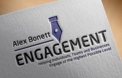 "desingtac tarafından Logo for - Alex Bonett - Speaker Author Mentor -(My Big Word is) ""Engagement"" için no 18"