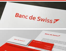 #109 para Logo Design for Banc de Swiss por maidenbrands